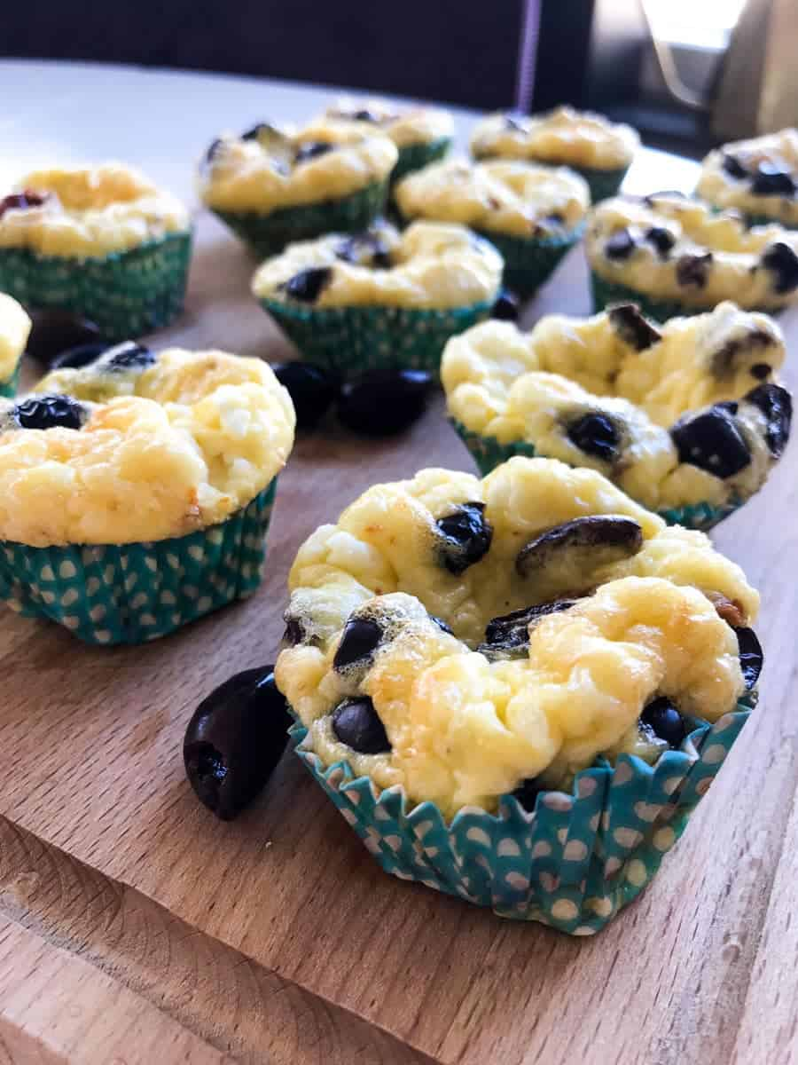 Greek Breakfast Egg Muffins