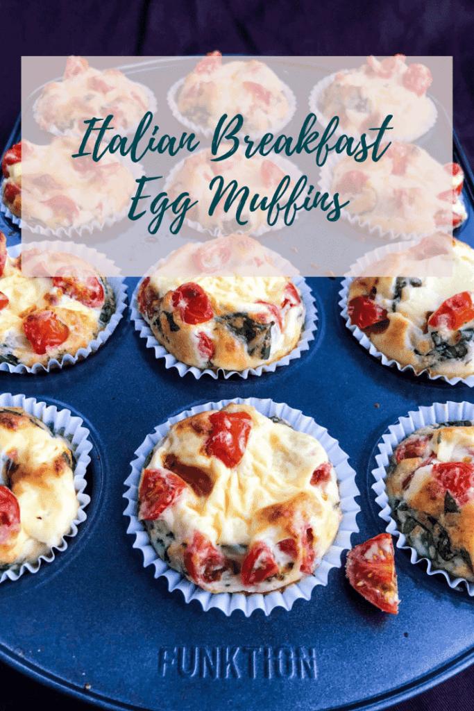 italian breakfast egg muffins
