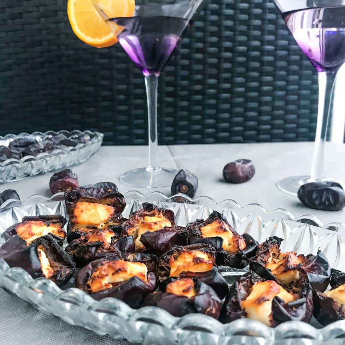 feta stuffed dates
