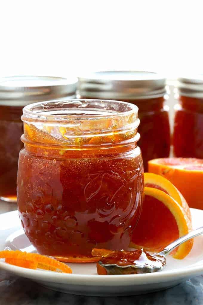 blood orange marmelande