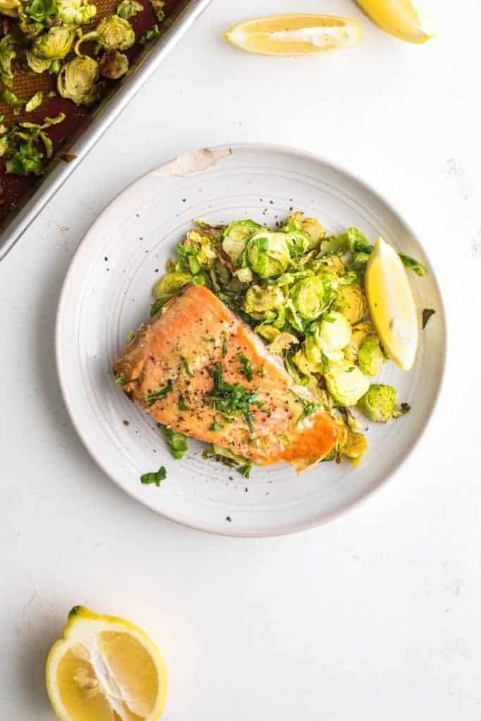 Sheet Pan Maple Mustard Salmon