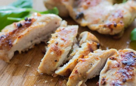 Easy Chicken Marinade with Lemon & Basil [Low carb, Gluten free]