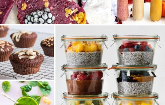 15+ Healthy Breakfasts To Go [Vegetarian & Low Carb]