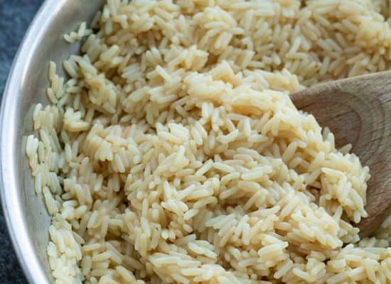 Seasoned Butter Rice [with Vegan Option]