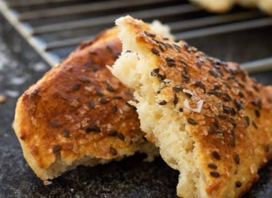 No Knead Overnight Turkish Bread (Diyarbakır çöreği)