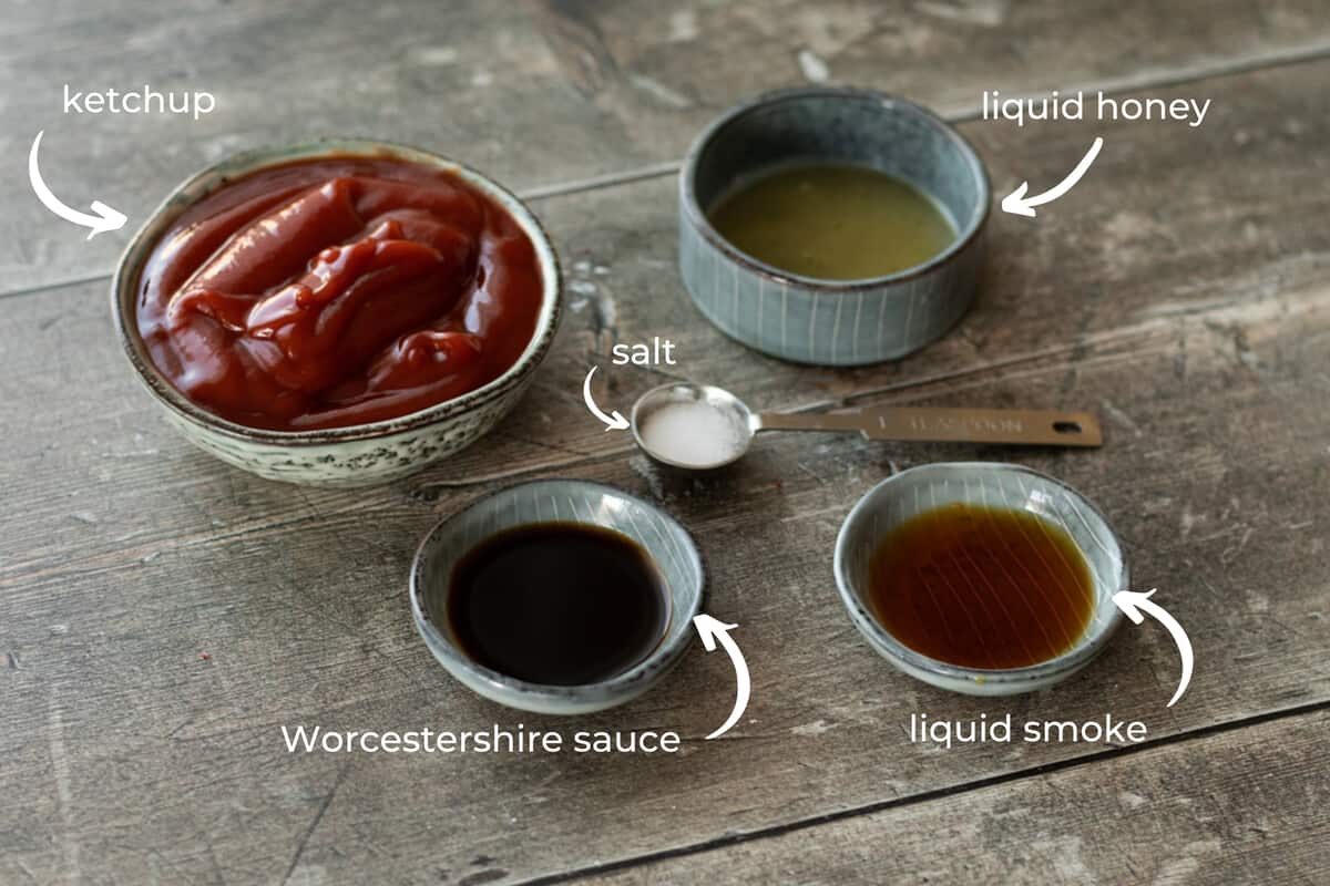 ingredients needed to make barbecue sauce