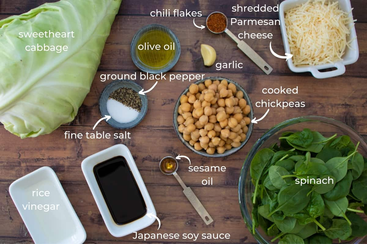 ingredients needed to make ssweetheart cabbage salad