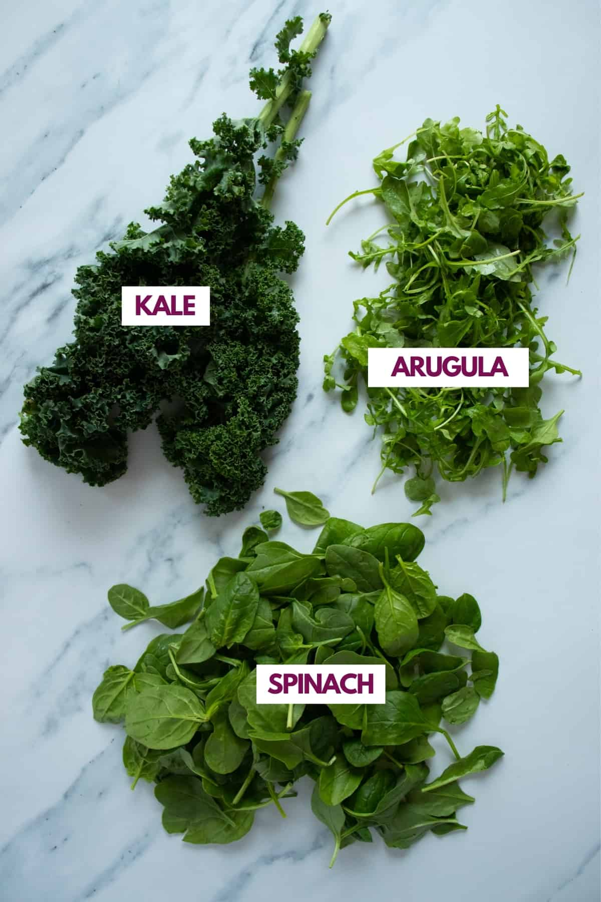leafy greens for healthy smoothies