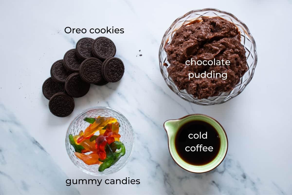 ingredient needed to make dessert dirt