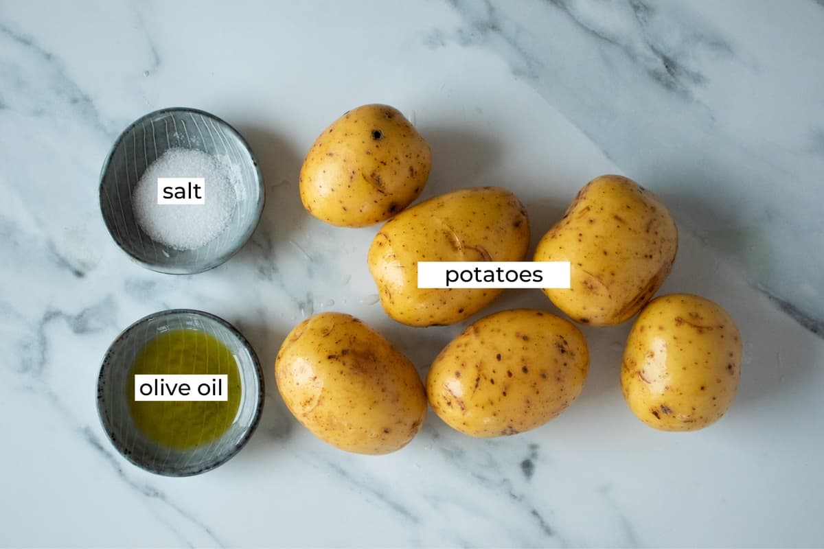 ingredient for air fryer potato wedges