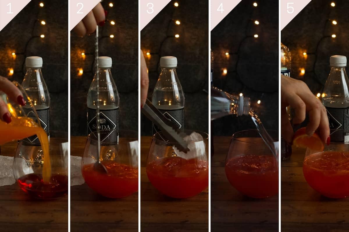how to make a clementine campari spritz