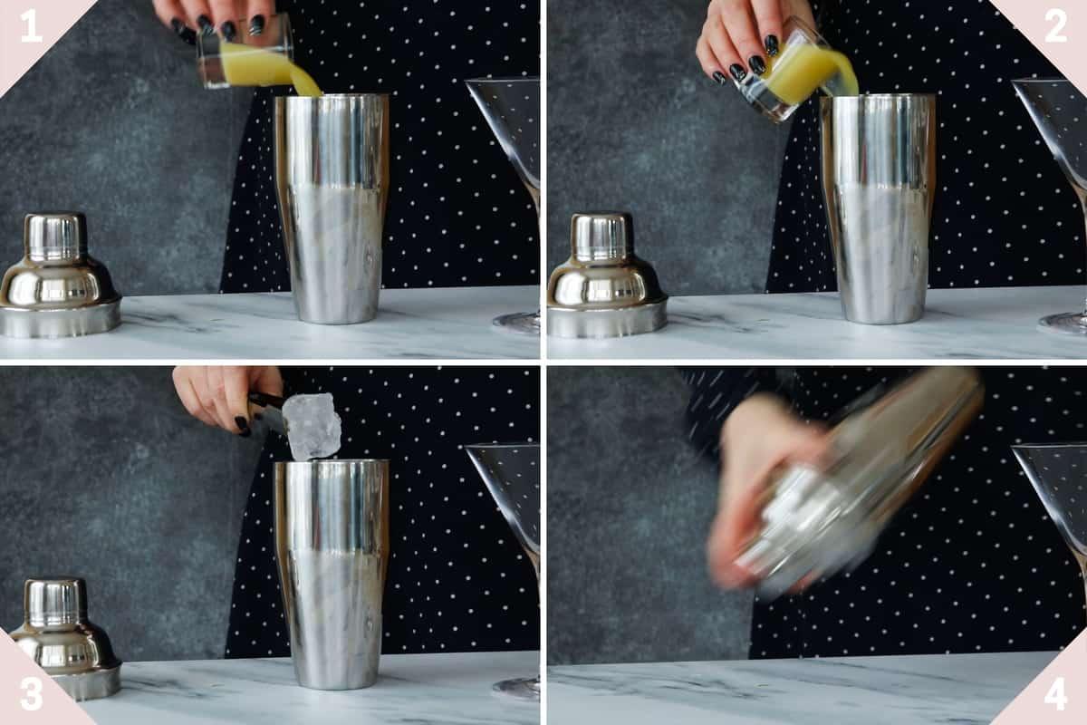 how to make a lemon ginger mocktail