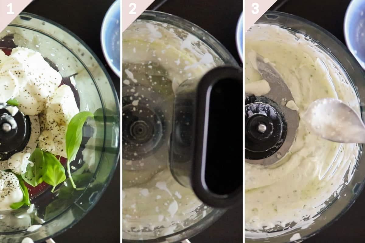 how to make whipped feta