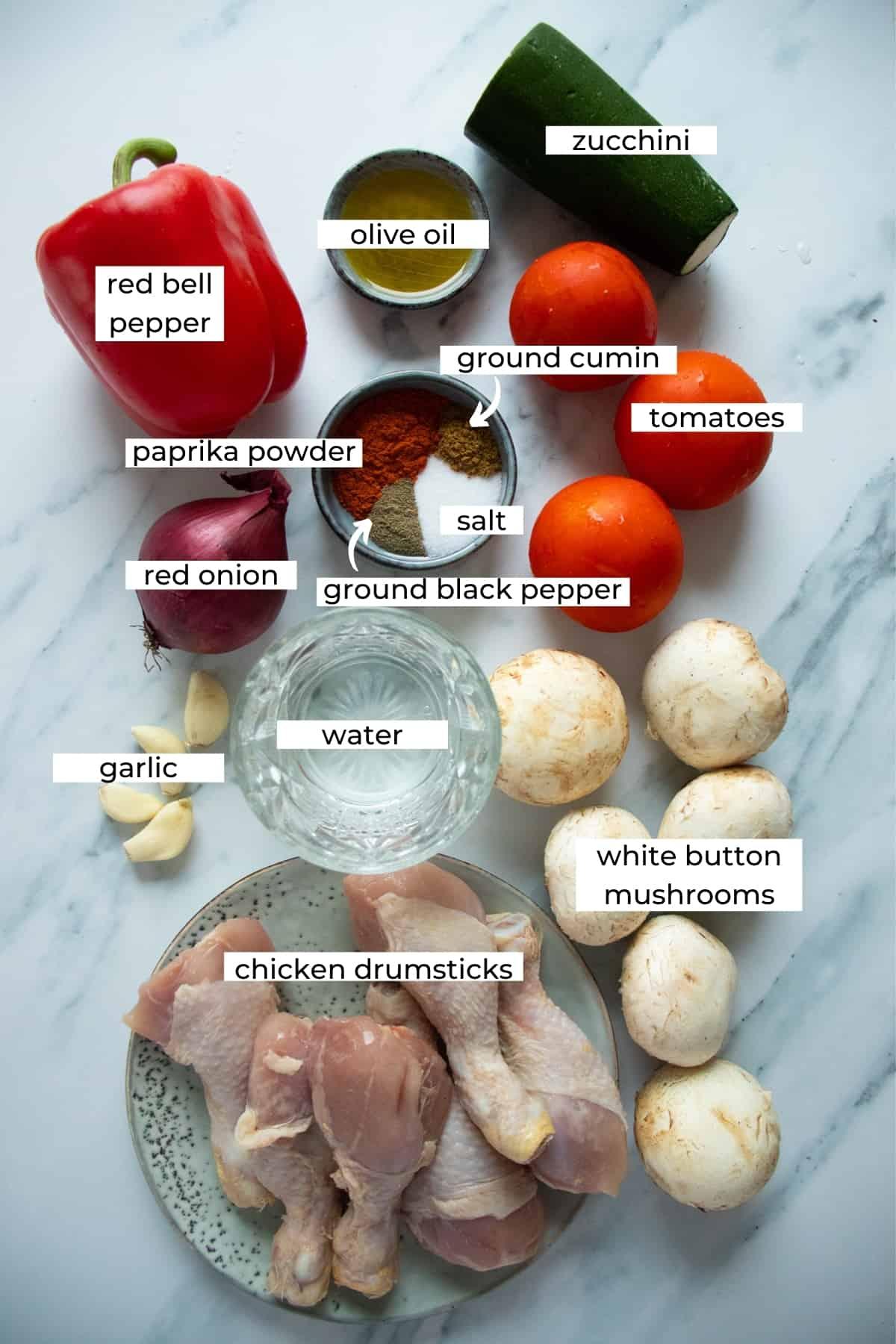 instant pot chicken stew ingredients