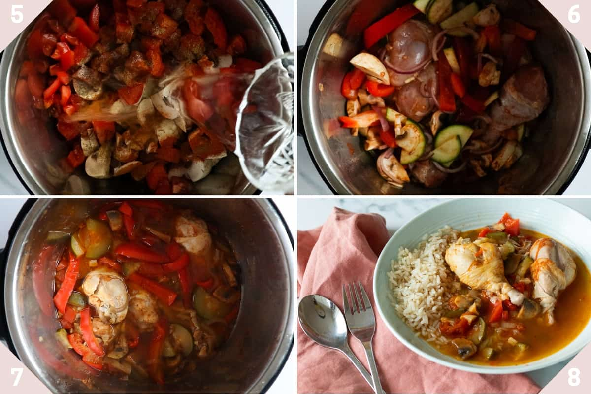 how to make instant pot chicken stew