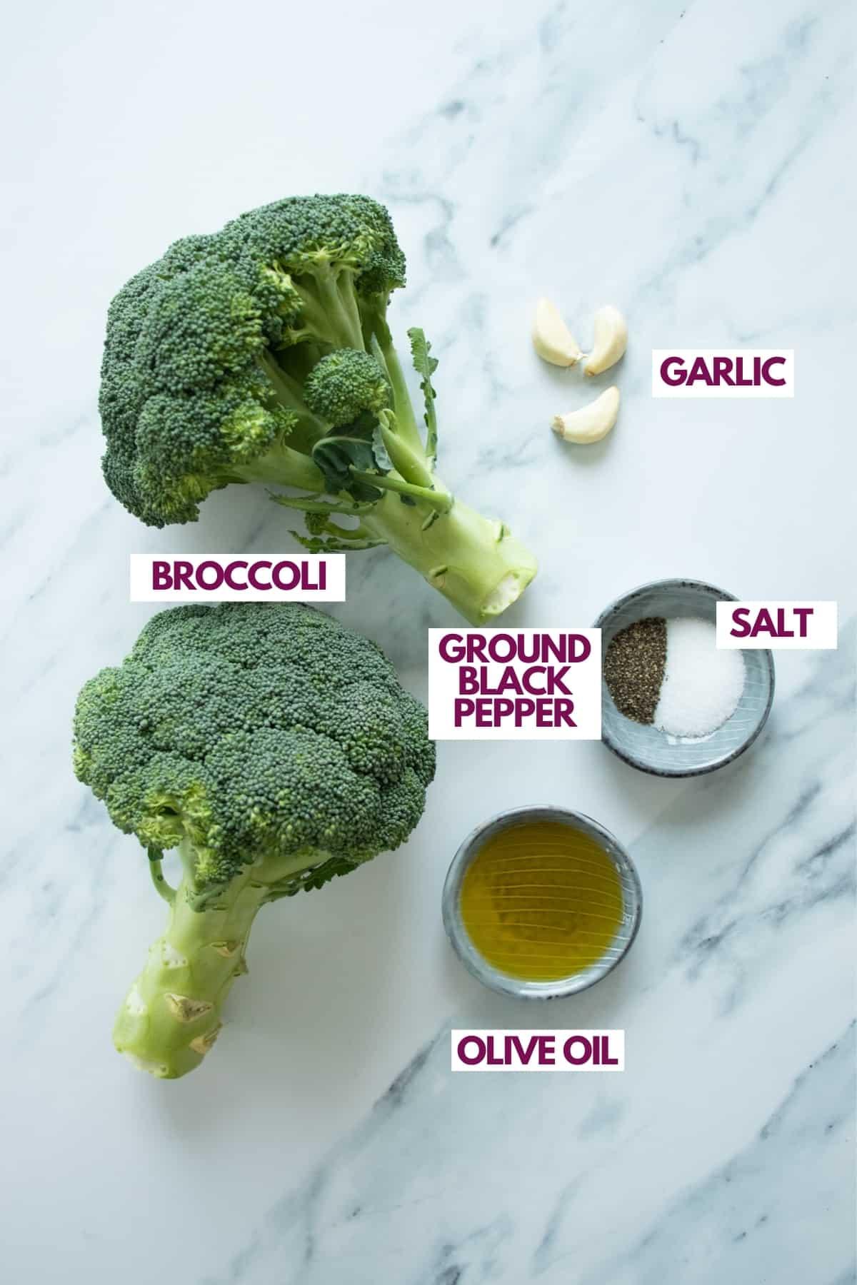 garlic roasted broccoli ingredients