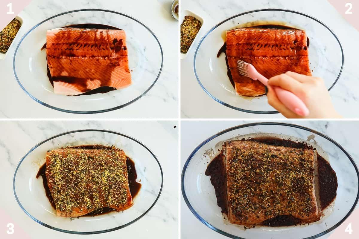 how to make furikake salmon