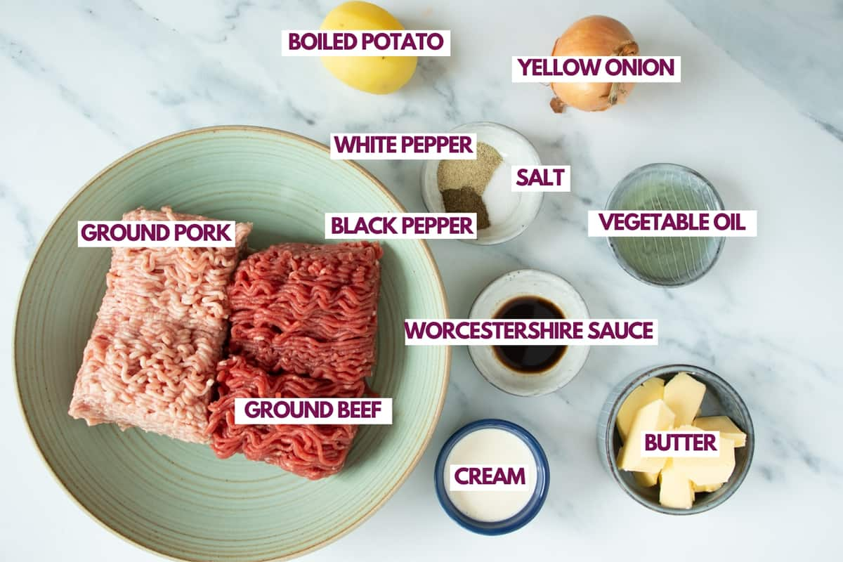 ingredients for meatballs without breadcrumbs and eggs