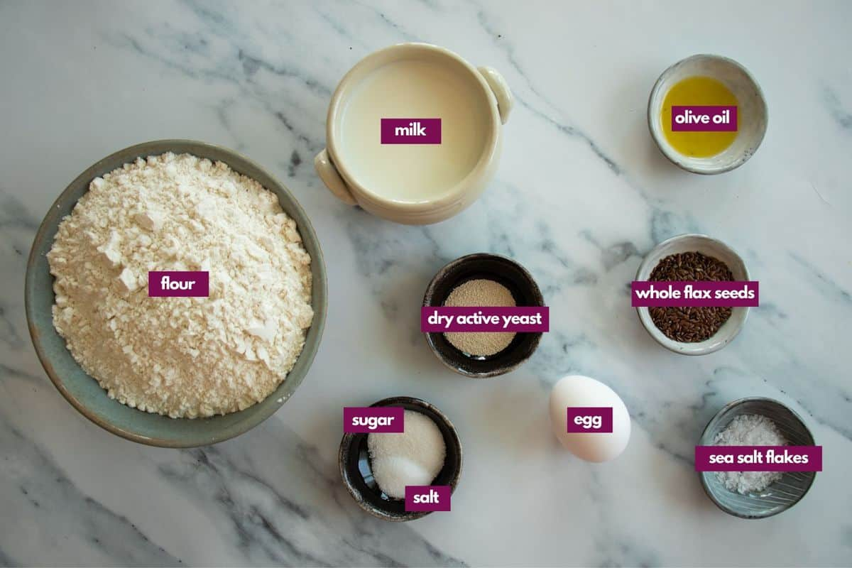 ingredients needed to make overnight bread