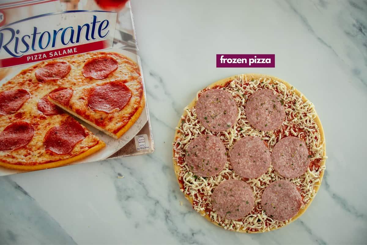 ingredients for air fryer frozen pizza
